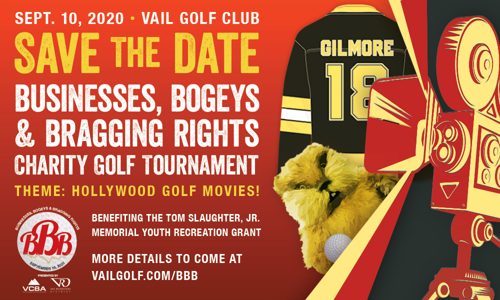 Image oaf the BB&B golf tournament fundraiser in vail colorado sept 10 at the vail golf club